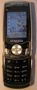 Téléphone portable de type Slide (coulissant)